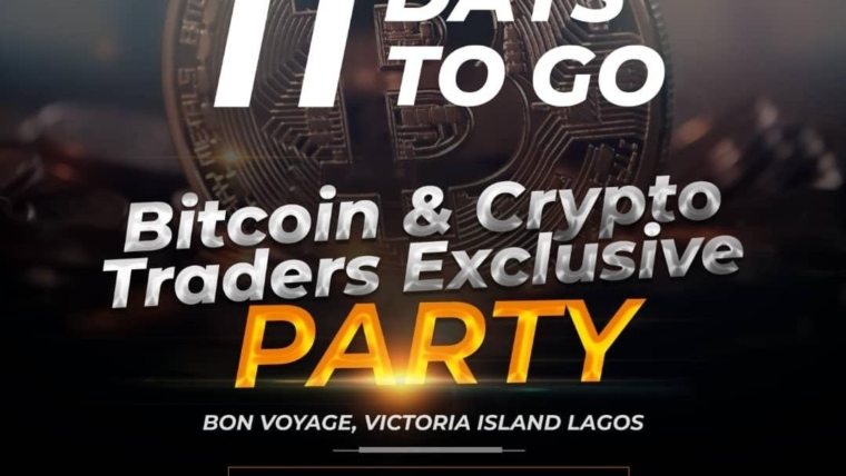 Bitcoin & Cryptocurrency Traders Exclusive Party, Friday 18 July 2019, Non Voyage, Victoria Island